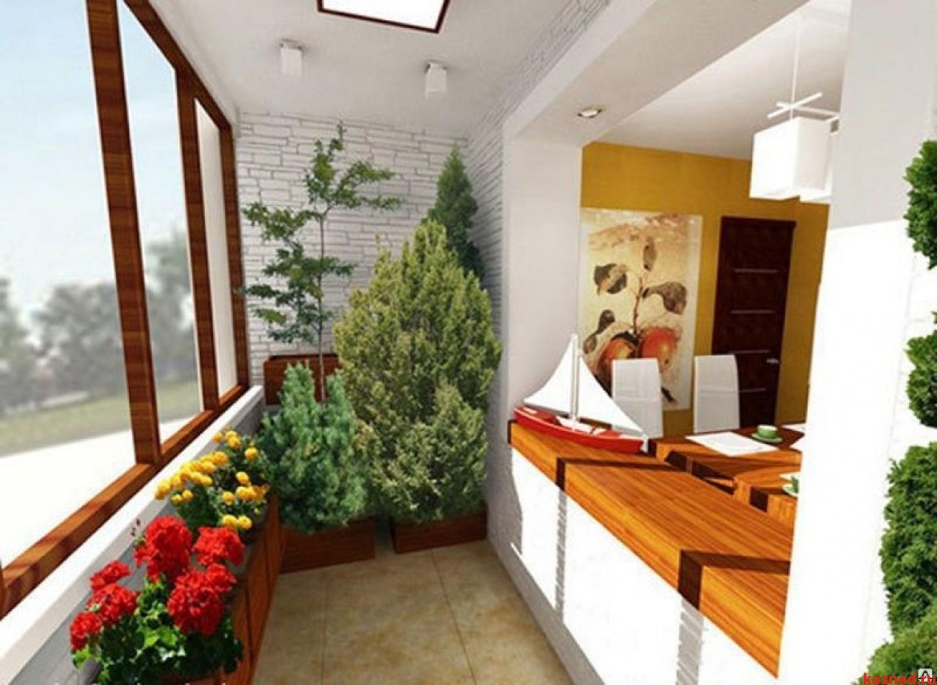 Дизайн кухни совместно с балконом дизайн кухни - фото, описа.