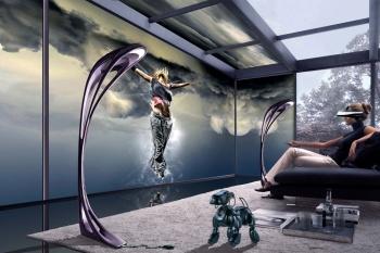 Стены-экраны и капсулы для сна: футуролог показал квартиру будущего