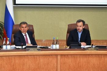 Татарстан отчитался о работе над двумя приоритетными федеральными проектами