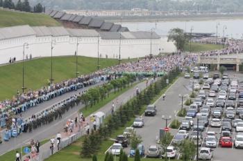 В Казани 21 июля будет перекрыто движение по ряду улиц в центре