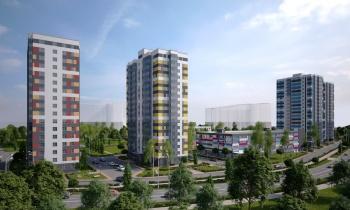 В Казани начались продажи квартир в новом «зеленом» ЖК