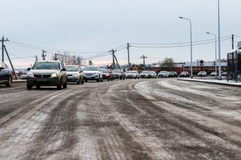 В Казани открылась обновленная дорога по направлению к Салмачам