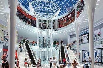 В 2017 г. в российских регионах рекордно упал ввод торговых центров