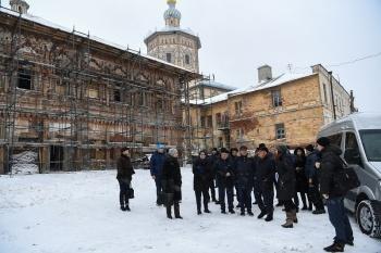 Президент Татарстана осмотрел реставрирующиеся объекты в центре Казани