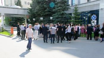 В Казани по пожарной тревоге эвакуировали Минземимущество РТ