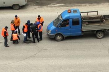 В Казани начали ремонтировать дорогу по ул. Дубравной