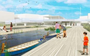 Стало известно, как будет выглядеть вторая часть новой набережной Кабана