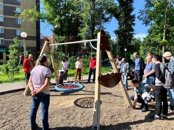 В «Ак Барс Доме» презентовали идеальные детские площадки