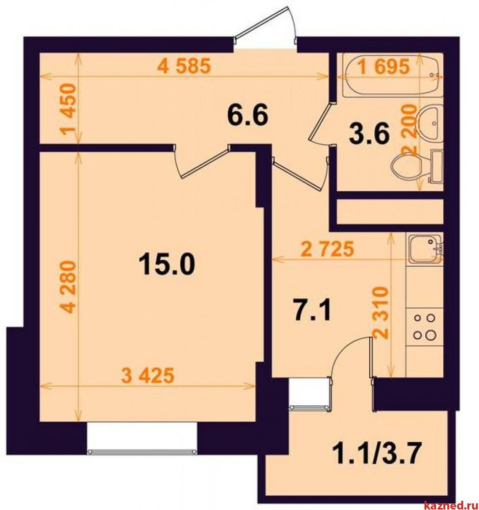 Продажа 1-к квартиры Тэцевская 7Б, 33 м² (миниатюра №2)