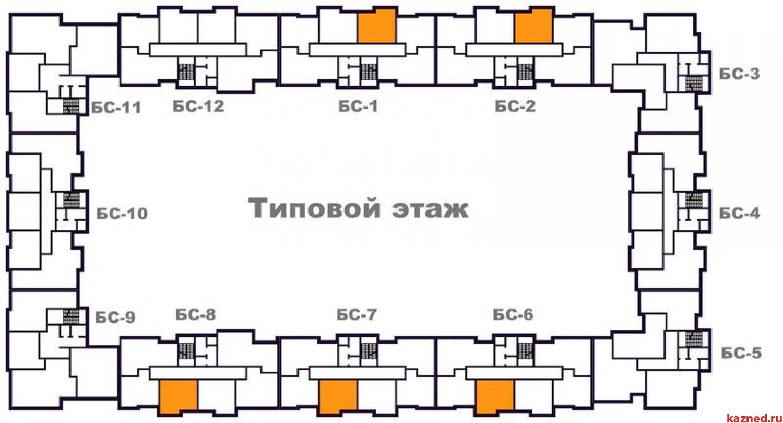 Продажа 1-к квартиры Тэцевская 7Б, 33 м² (миниатюра №1)