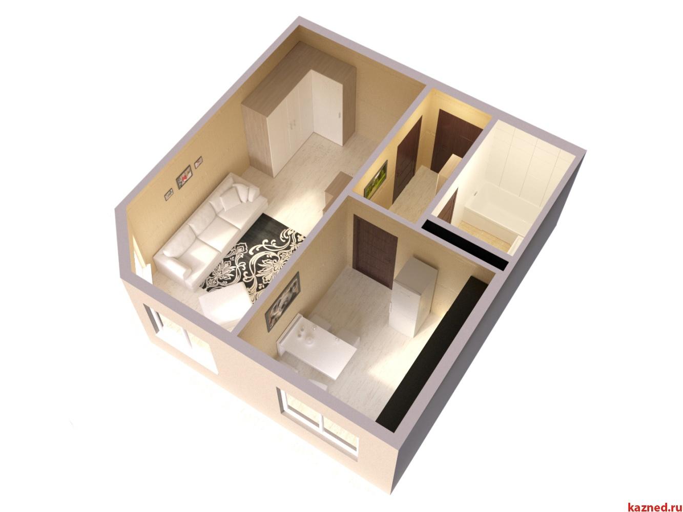 Продажа 1-к квартиры ЖК Светлый, 42 м² (миниатюра №3)
