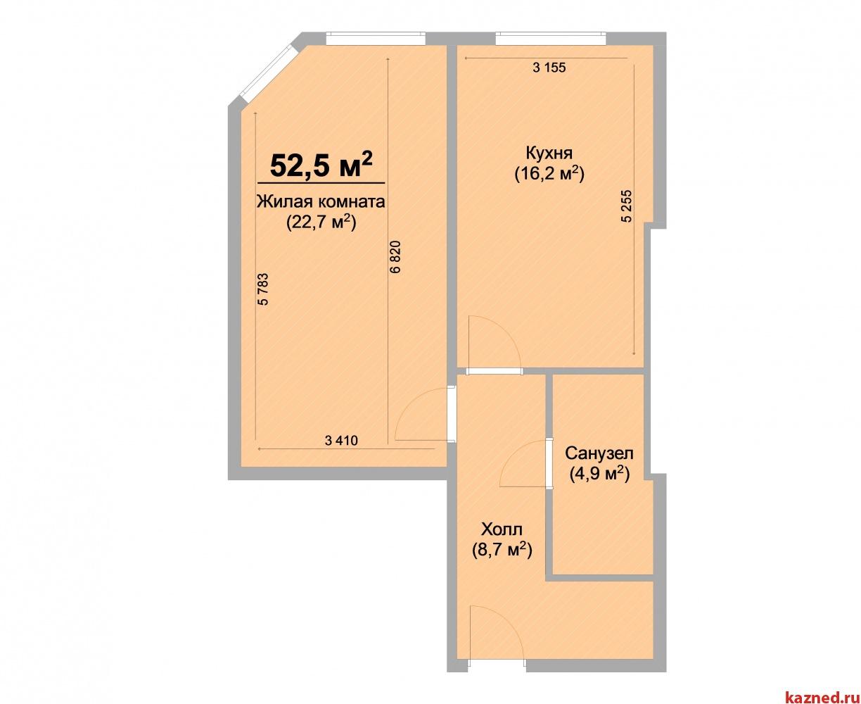 Продажа 1-к квартиры ЖК Светлый, 52 м² (миниатюра №1)