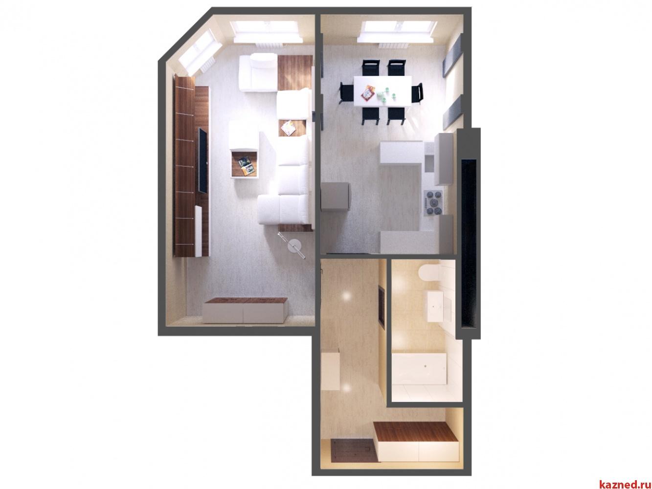 Продажа 1-к квартиры ЖК Светлый, 52 м² (миниатюра №2)