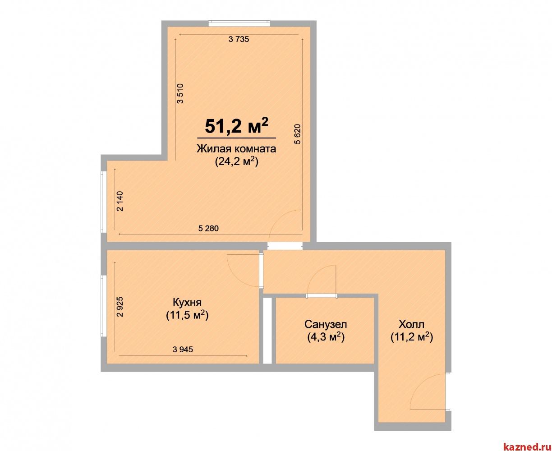 Продажа 1-к квартиры ЖК Светлый, 51 м² (миниатюра №2)