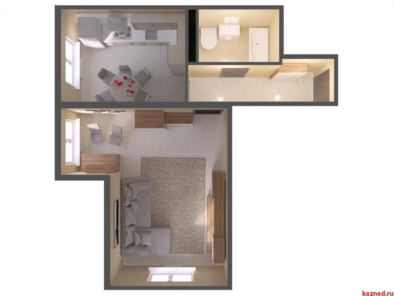 Продажа 1-к квартиры ЖК Светлый, 45 м²  (миниатюра №2)