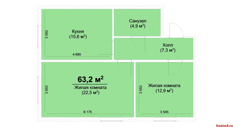 Продажа 2-к квартиры ЖК Светлый, 63 м2  (миниатюра №2)
