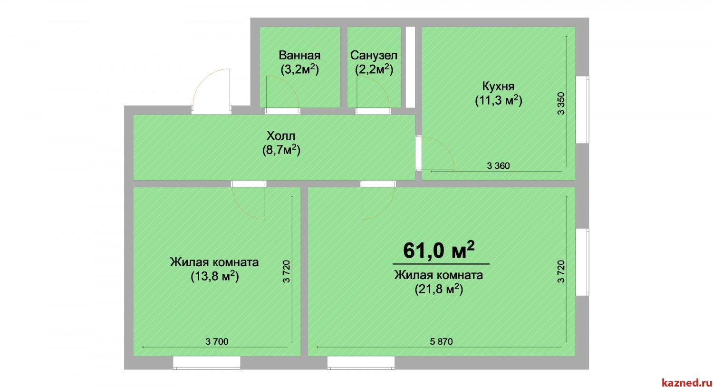 Продажа 2-к квартиры ЖК Светлый, 61 м2  (миниатюра №1)