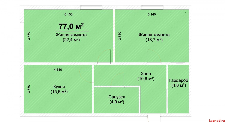 Продажа 2-комн.квартиру ЖК Светлый, 77 м2  (миниатюра №1)