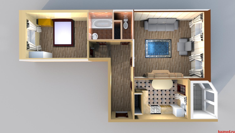 2-х комнатная квартира (миниатюра №1)
