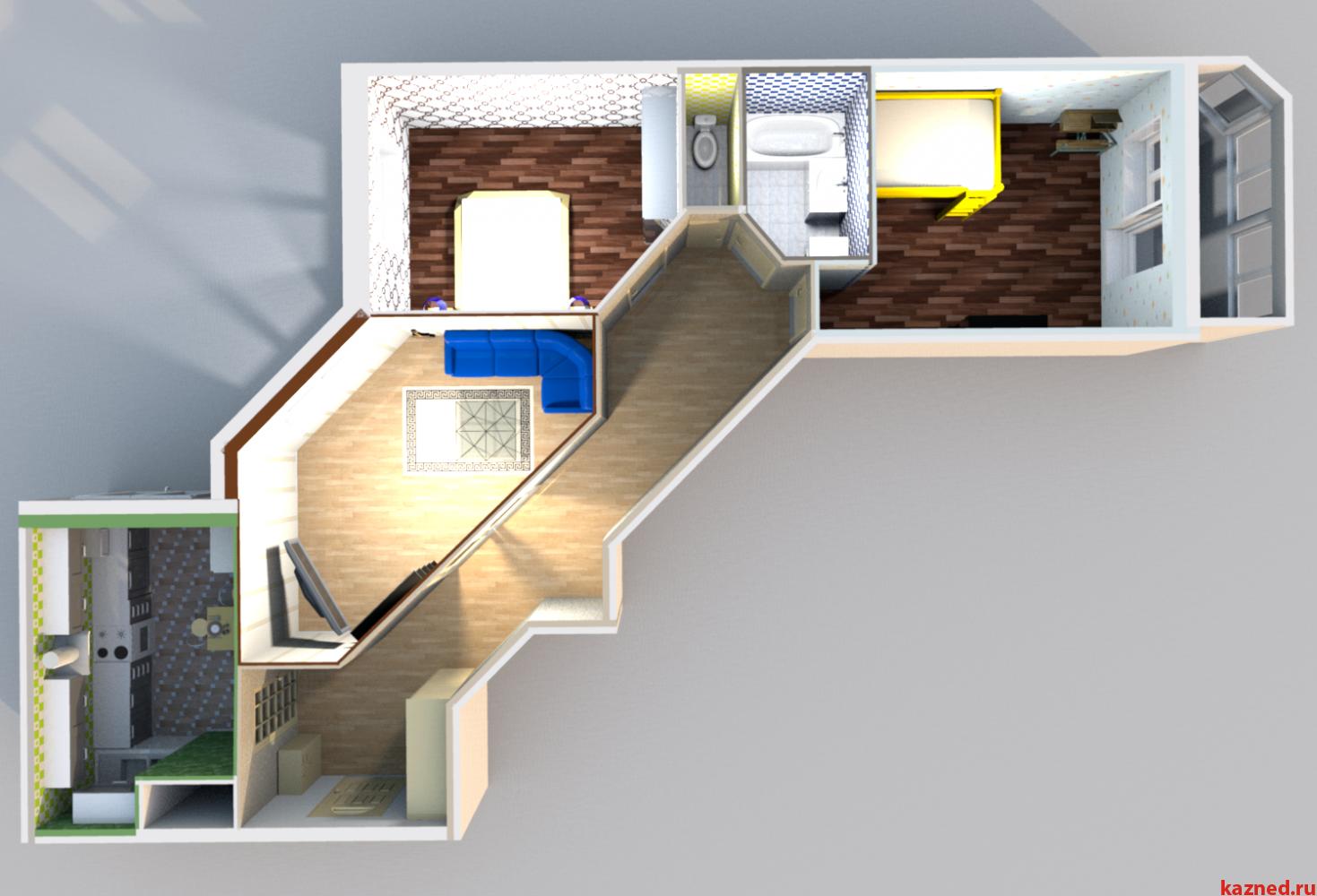Продажа 3-к квартиры Годовикова/Лукина, 91 м²  (миниатюра №2)
