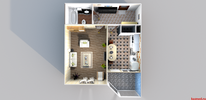 Продажа 1-к квартиры Годовикова/Лукина, 45 м²  (миниатюра №2)