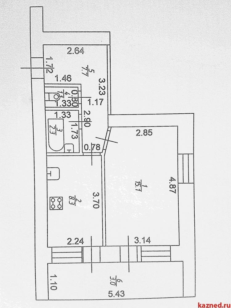 Продажа 1-к квартиры Новая, 7, 37 м²  (миниатюра №3)