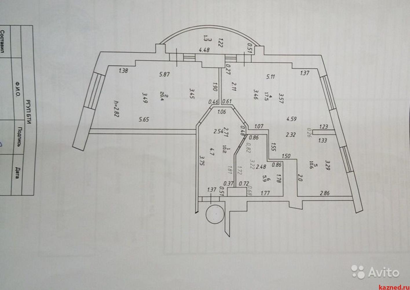Продажа 2-к квартиры Юлиуса Фучика, 2Б, 66 м2  (миниатюра №12)