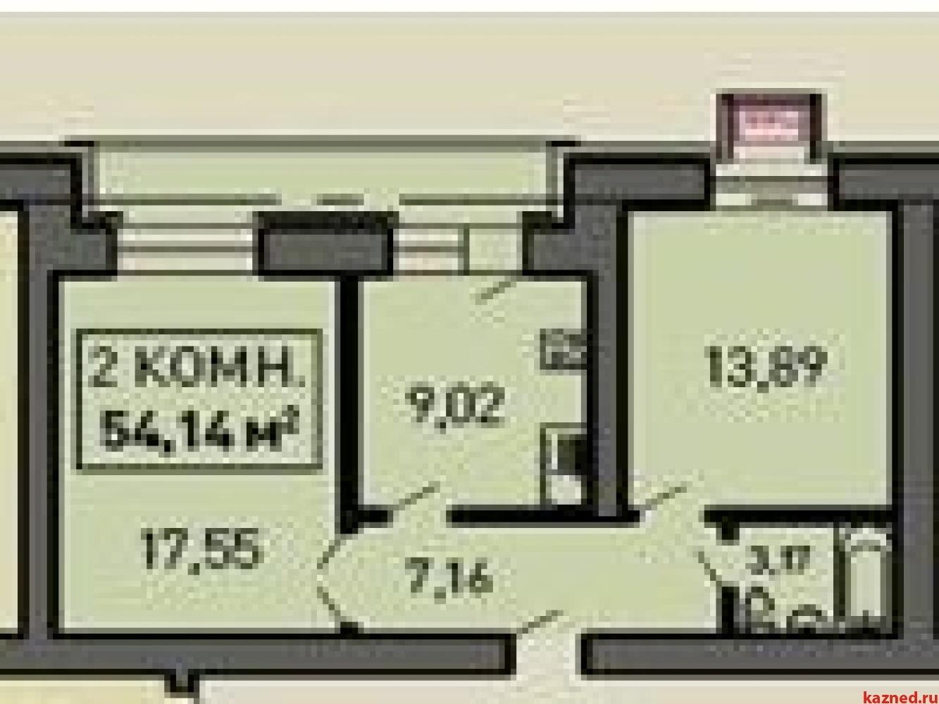 Продажа 2-к квартиры Лукина д.52, 53 м²  (миниатюра №1)