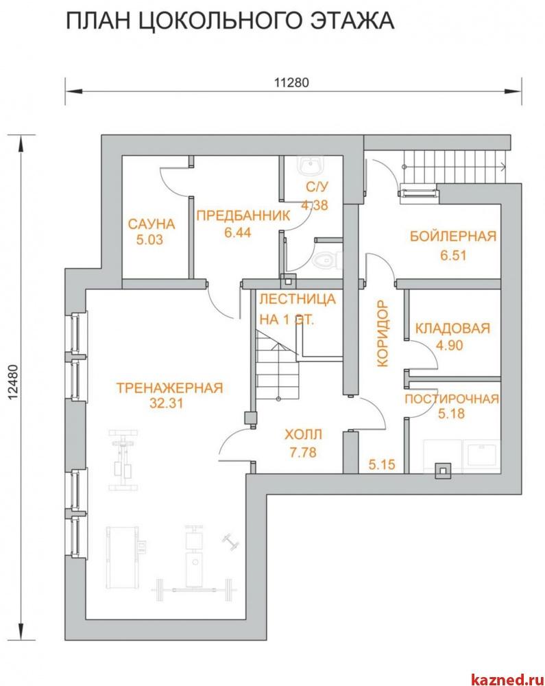Продажа  дома п.Дубровка, п.Ореховка, 306 м²  (миниатюра №7)
