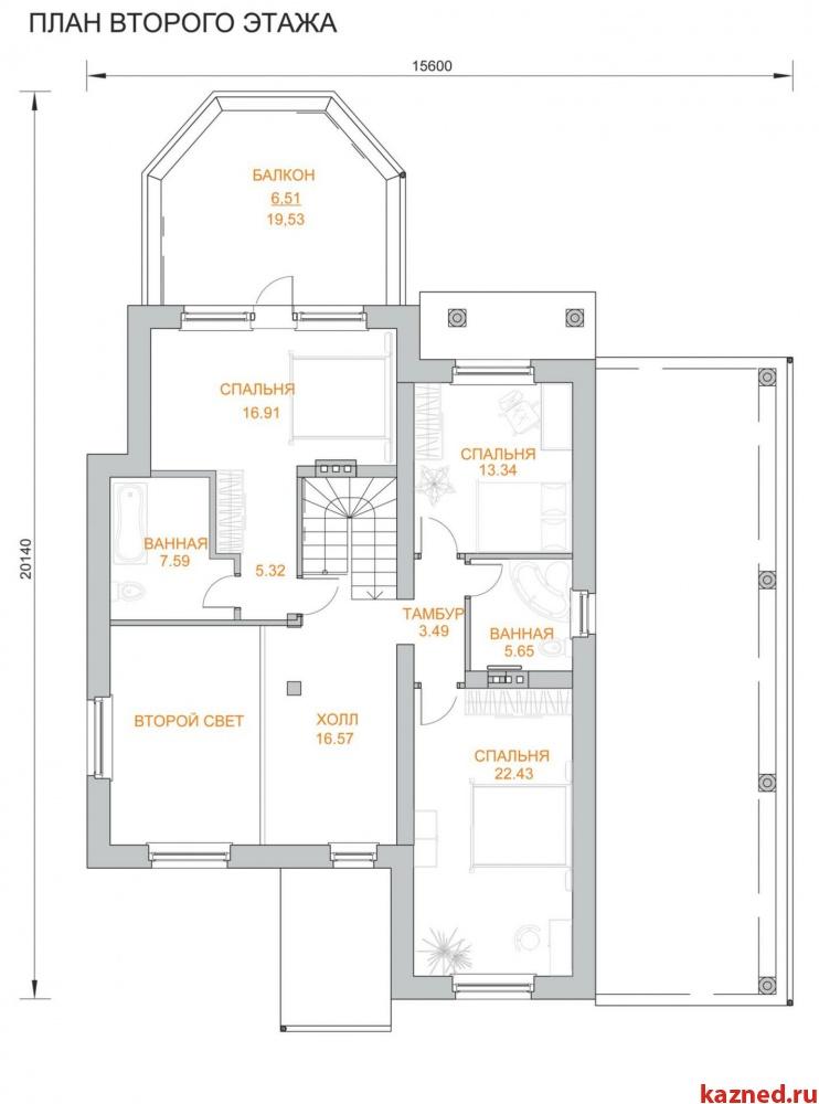 Продажа  дома п.Дубровка, п.Ореховка, 306 м²  (миниатюра №8)