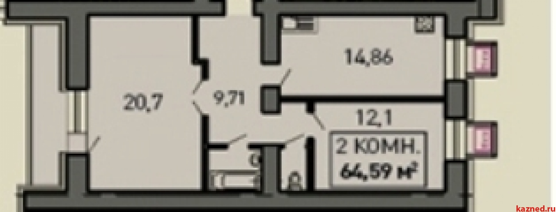 Продажа 2-к квартиры Лукина д.52, 70 м2  (миниатюра №2)