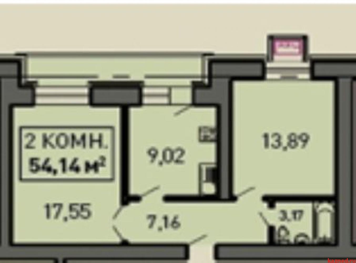 Продажа 2-к квартиры Лукина д.54, 55 м2  (миниатюра №1)