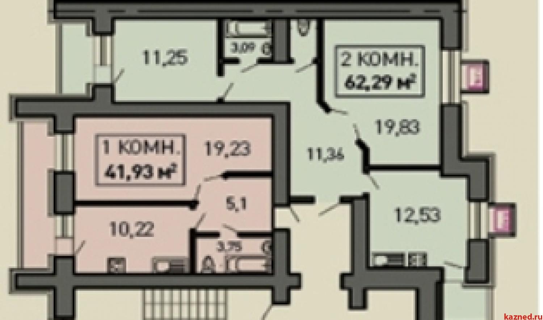 Продажа 2-комн.квартиру ул.Лукина д.52, 61 м2  (миниатюра №2)