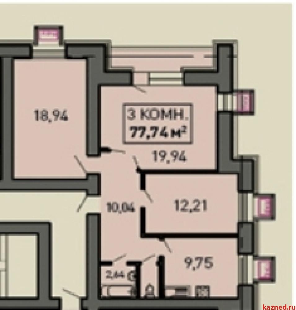 Продажа 3-к квартиры Лукина, д.52, 83 м² (миниатюра №2)