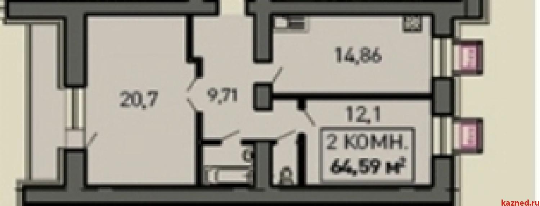Продажа 2-к квартиры Лукина, д.52, 68 м² (миниатюра №2)