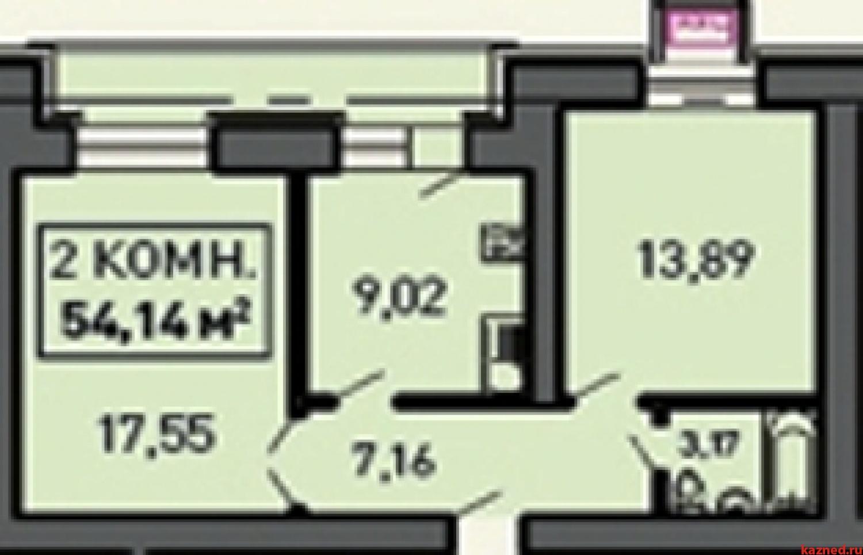 Продажа 2-к квартиры ул.Лукина д.52, 55 м2  (миниатюра №1)