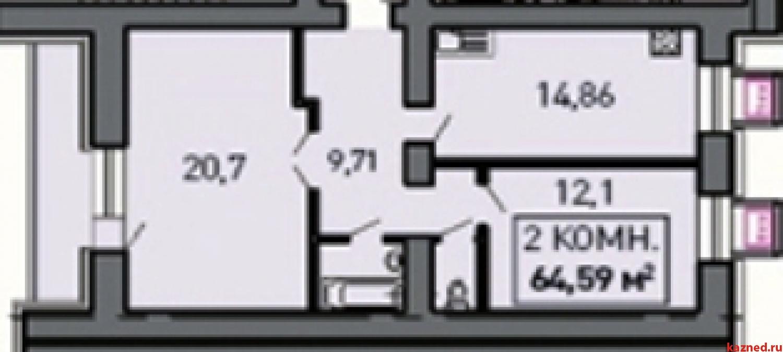 Продажа 2-к квартиры Лукина д.52, 68 м²  (миниатюра №1)