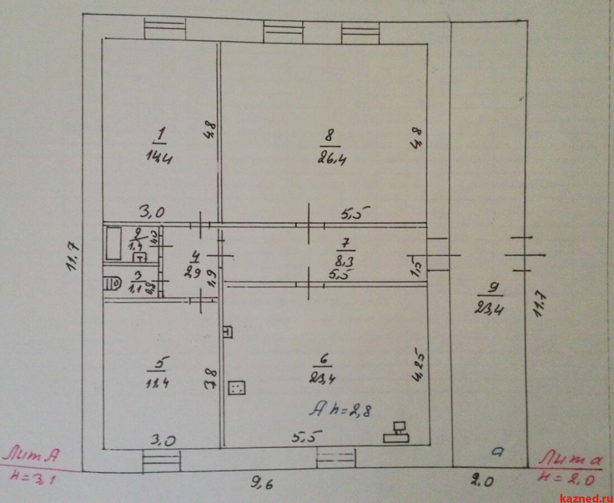 Продам дом Подгорная, 89 м2  (миниатюра №19)