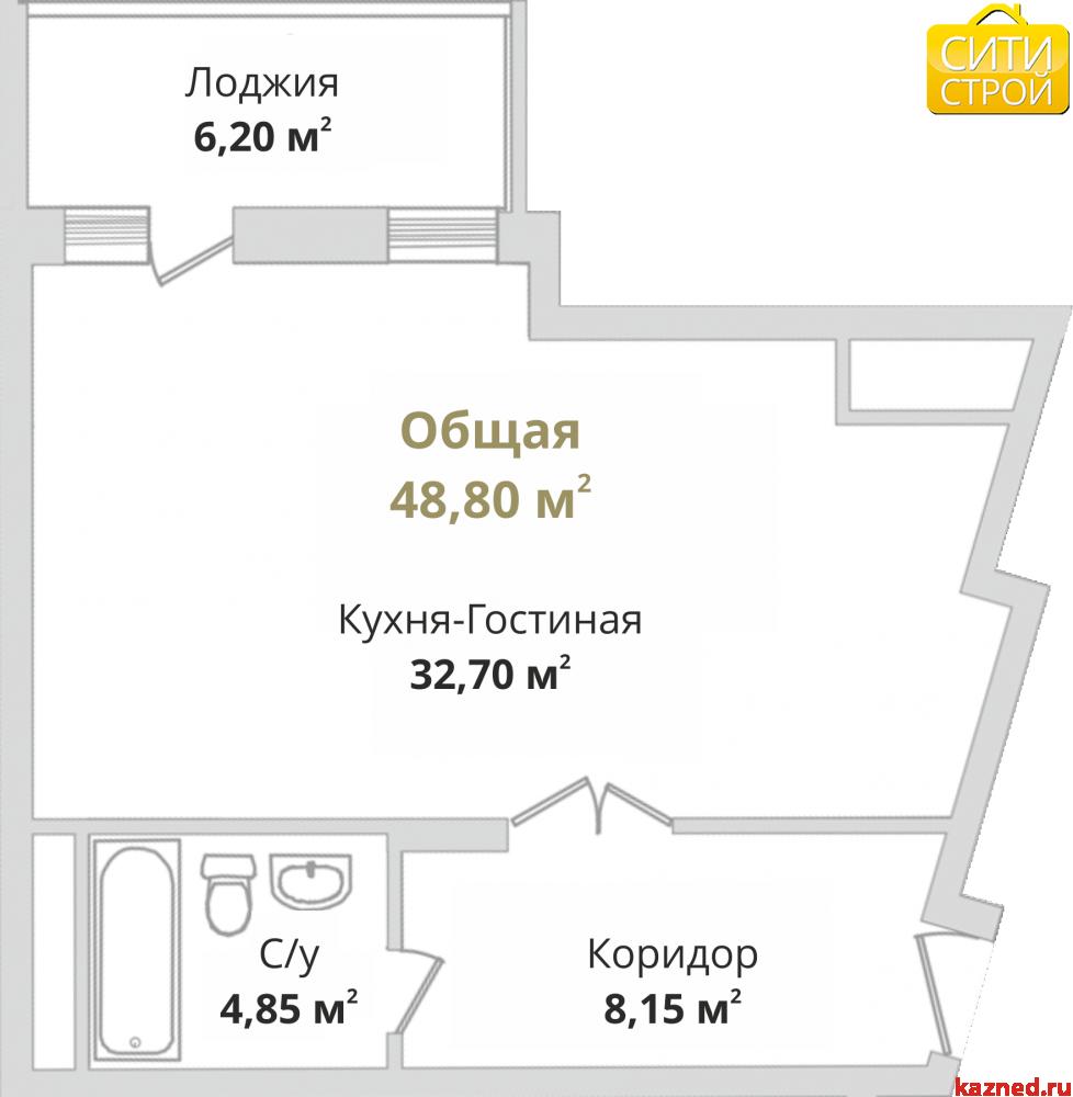 Продажа 1-к квартиры Гвардейская, 49 м2  (миниатюра №1)