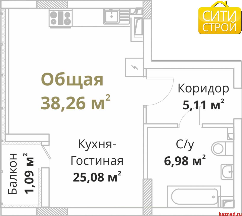 Продажа 1-к квартиры Проточная, 39 м2  (миниатюра №1)