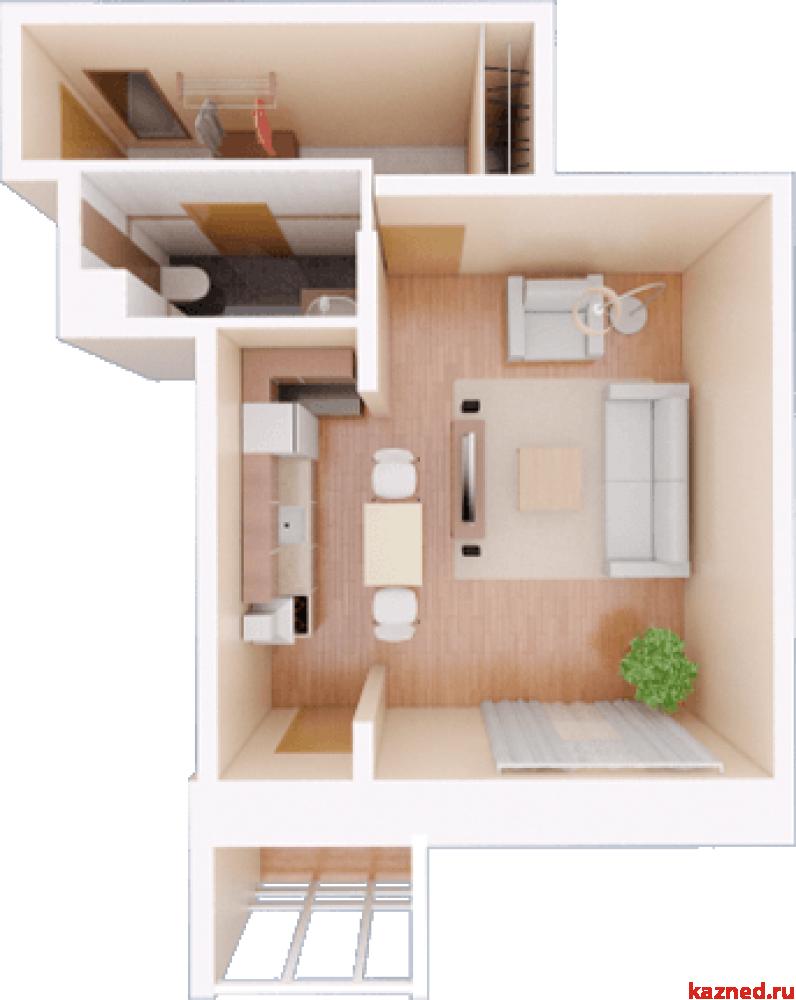 Продажа 1-к квартиры Камая 8, 1 очередь, 48 м2  (миниатюра №3)