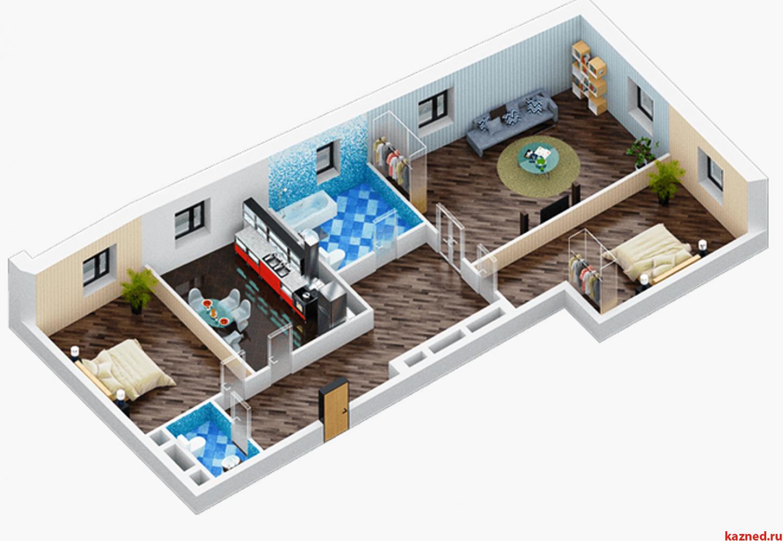 Продажа 3-к квартиры Дубравная д.16А-10, 70 м² (миниатюра №2)