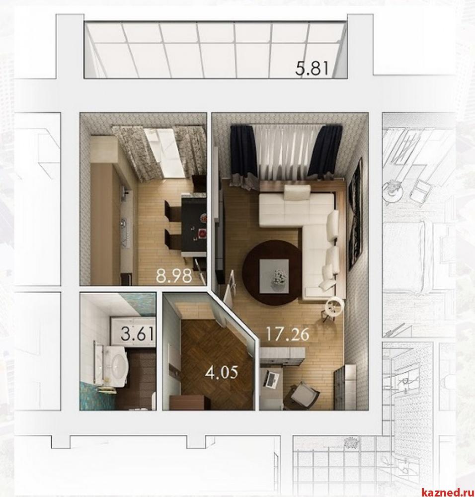 Продам 1-комн.квартиру ЖК АртСити, 37 м2  (миниатюра №11)