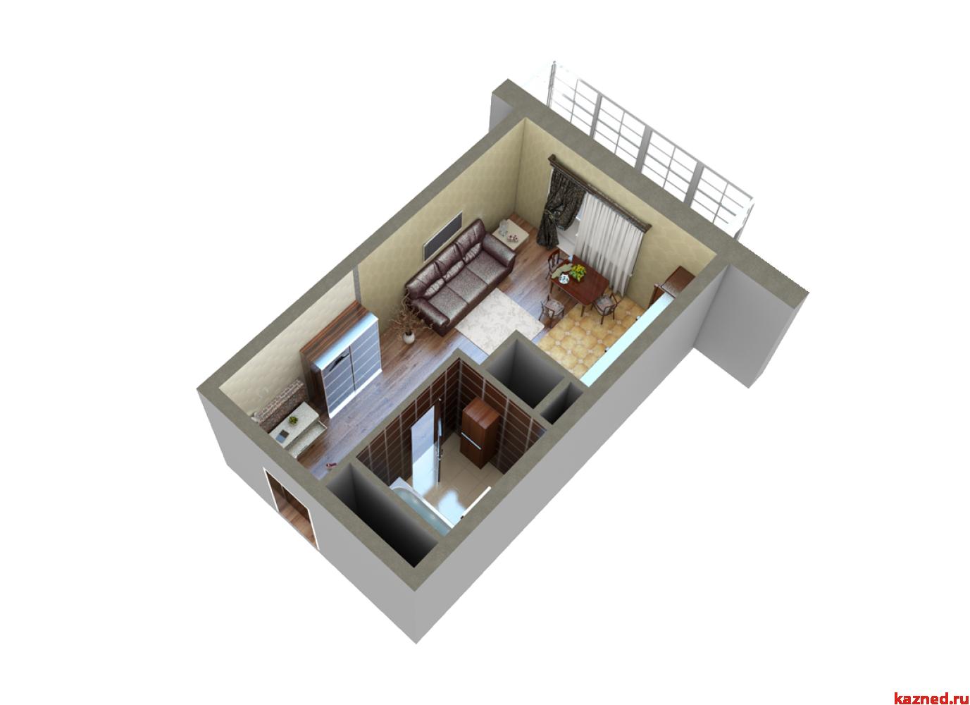 Продажа 1-к квартиры Мамадышский тракт, 36 м²  (миниатюра №7)