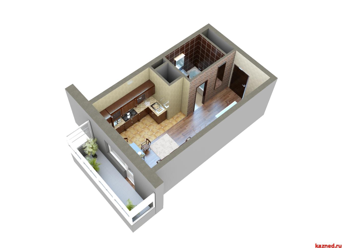 Продажа 1-к квартиры Мамадышский тракт, 36 м²  (миниатюра №9)