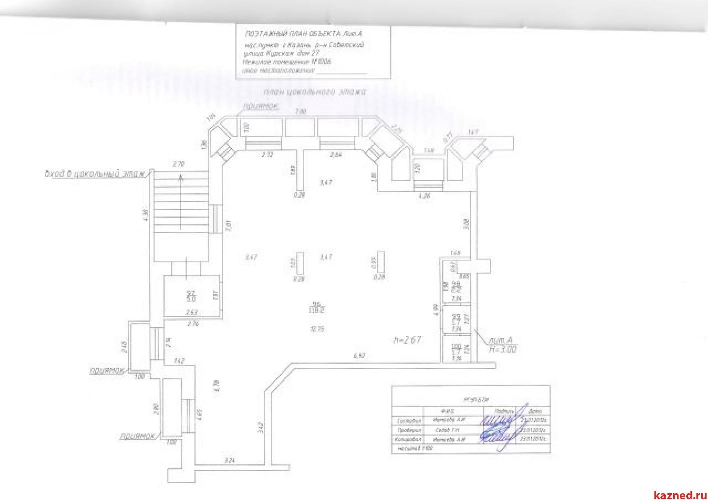 Продажа  Офисно-торговые Курская 27, 130 м2  (миниатюра №9)