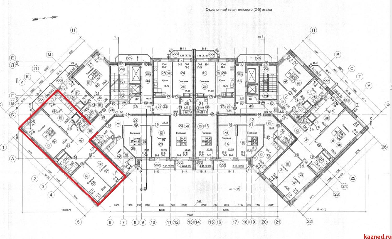 Продажа 3-к квартиры Гвардейская, 59а (ост. Сады), 105 м2  (миниатюра №3)