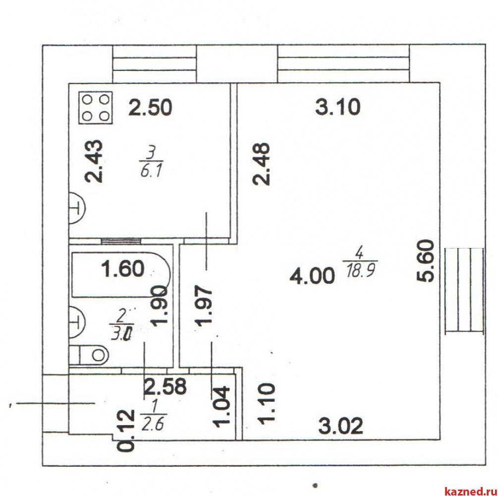 Продам офисно-торговое помещение Аделя Кутуя, 31 м2  (миниатюра №4)