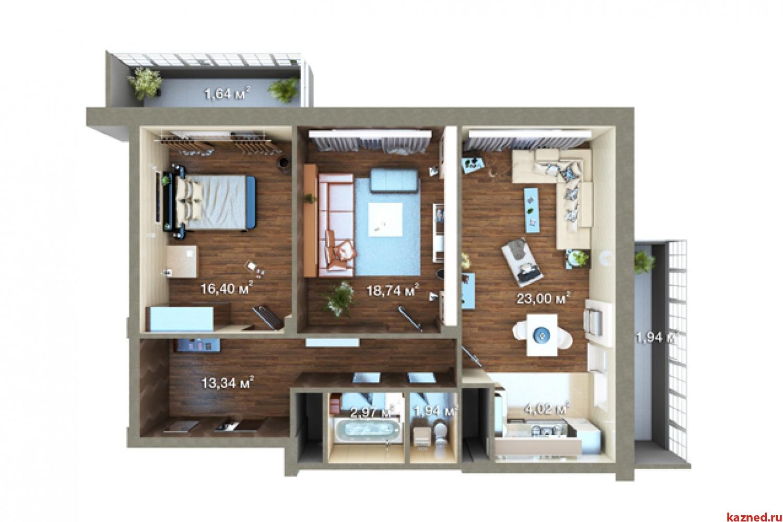Продажа 2-к квартиры Максимова, 37, 45 м²  (миниатюра №2)