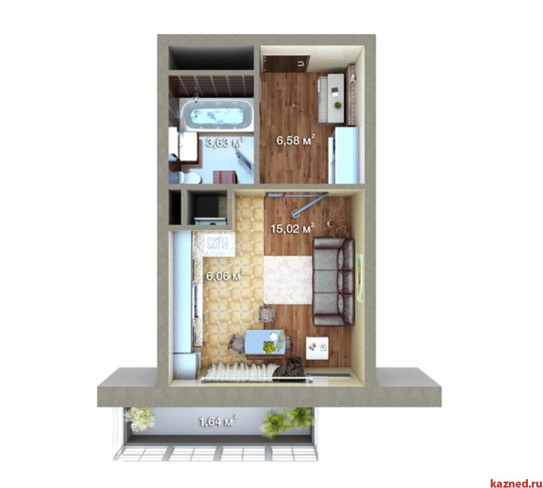 Продажа 1-к квартиры Максимова, 37, 32 м² (миниатюра №2)